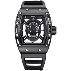 Price Skone Brand Pirate Skull Style Quartz Men S Watches For Men Military Silicone Strap Sports Wristwatch Waterproof 398701 Intl Online China