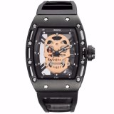 Buy Skone Brand Pirate Skull Style Quartz Men S Watches For Men Military Silicone Strap Sports Wristwatch Waterproof 398702 Intl