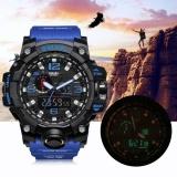 Buy Smael Multi Functional Dual Display Sport Watch Waterproof Electronic Wristwatch 2 Intl Online
