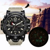 Compare Smael Multi Functional Dual Display Sport Watch Waterproof Electronic Wristwatch 4 Intl