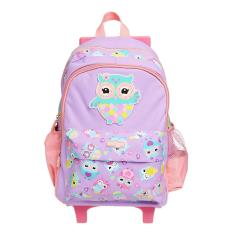 Smiggle trolley bag school bag backpack b2a65d4885554
