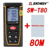 Low Cost Sndway Sw T80 80M Laser Distance Meter Range Finder Measure Diastimeter Device Intl