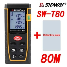 Best Offer Sndway Sw T80 80M Laser Distance Meter Range Finder Measure Diastimeter Device Intl