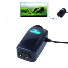 Review Sobo Sb 748 8W Double Outlets Adjustable Flow Silent Aquarium Air Pump Fish Tank Oxygen Air Pump Intl Sunsky On China