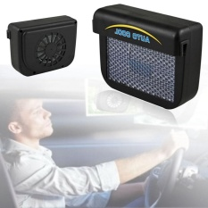 Solar Powered Car Auto Air Vent Cool Cooler Fan Ventilation Fan Exhaust Fan With Rubber Car Auto Cooler Intl Best Price