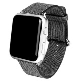 Compare Sports Woven Nylon Silicone Bracelet Strap Band For Apple Watch 42Mm Bk Intl Prices
