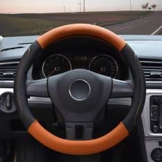Review Steering Wheel Covers 14 56 14 96 Pu Leather Black M Intl On China