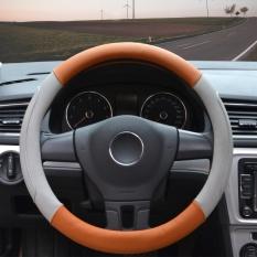 Best Steering Wheel Covers 14 56 14 96 Pu Leather Grey M Intl