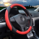 Steering Wheel Covers 14 56 14 96 Pu Leather Red M Intl Online