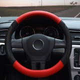 Steering Wheel Covers 14 56 14 96 Pu Leather Red M Intl Coupon