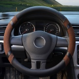 Sale Steering Wheel Covers 15 35 15 74 Pu Leather Coffee L Intl Yingjie Online