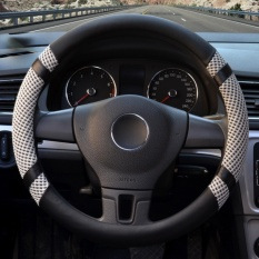 Steering Wheel Covers 15 35 15 74 Pu Leather Gray L Intl Lowest Price