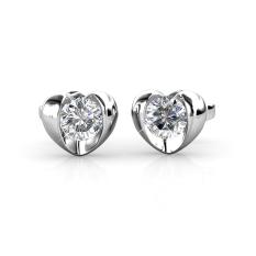 Price Simply Love Earrings Crystals From Swarovski® Her Jewellery Original