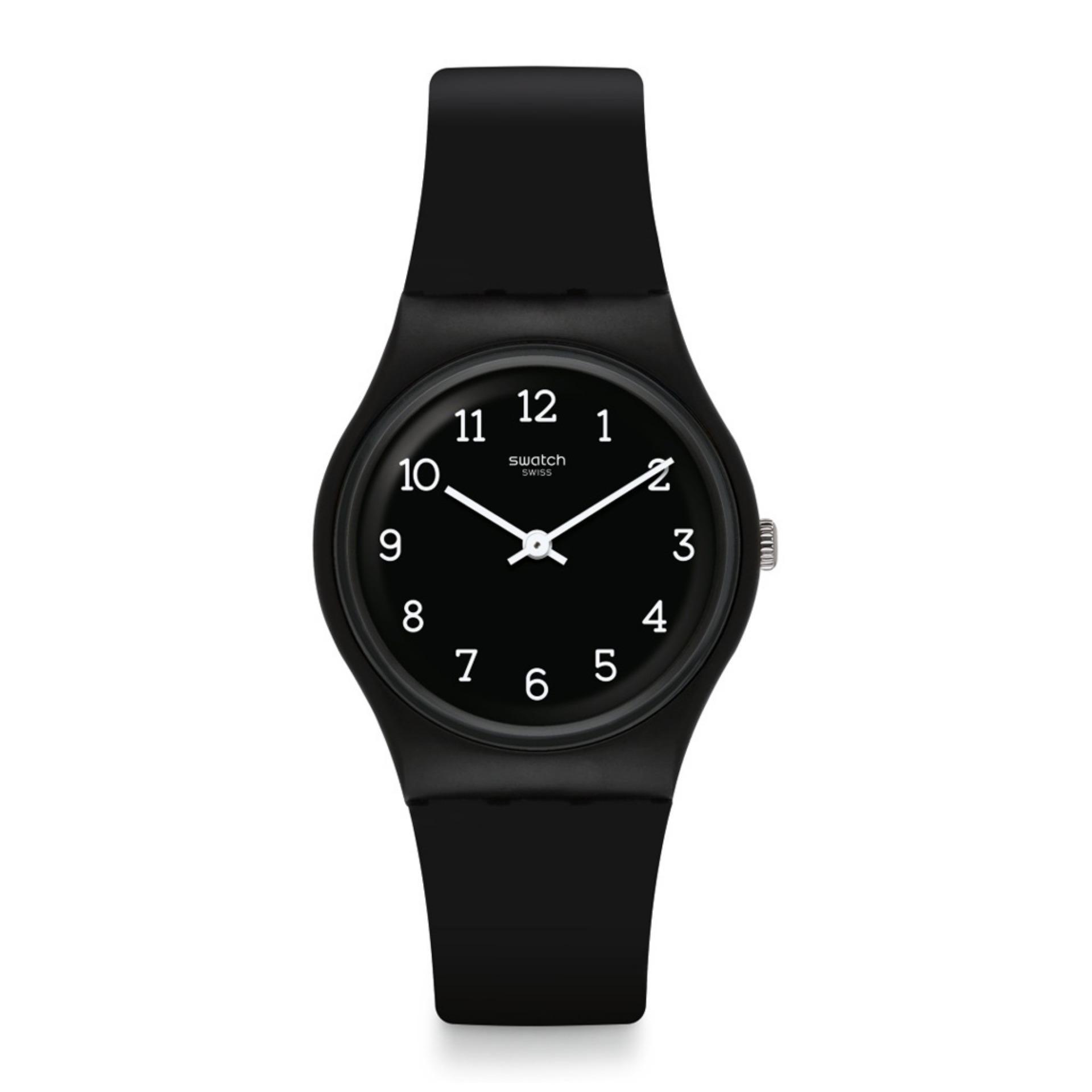 Black Blackway Dial Gb301 Unisex Original Swatch Watch m0Nnw8