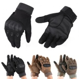 Best Price Sweatbuy Winter Full Finger Motorcycle Gloves Outdoor Sports Racing Motocross Gloves Black M Intl