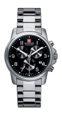 Best Price Swiss Military Hanowa Swiss Soldier Chrono Stainless Steel Bracelet Watch Sm12119Msn H02M Intl