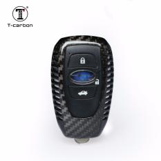 T Carbon® Deluxe Real Carbon Fiber Fob Key Cover Case For Subaru 15 17 Forester Legacy Outback Levorg Xv Best Buy