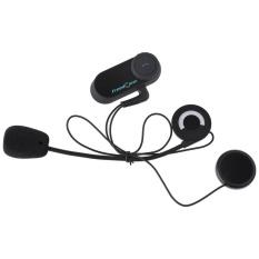 T Comos Motorcycle Full Duplex Helmet Intercom Bluetooth Water Resistant Interphone Intl For Sale