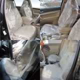 Buying Teamtop 100 X Car Van Disposable Plastic Seat Covers Vehicle Protector Mechanic Valet Export