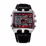 Sale Teamtop Ohsen Analog Digital Men S Waterproof Quartz Stainless Steel Sport Wrist Watch Online On China
