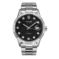 Buy Tevise Diamond Gold Watch Men Date Luminous Waterproof Clock Men Business Men Watches Automatic Mechanical Wristwatches Intl Online China