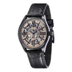 Thomas Earnshaw Armagh Es 8037 06 Men S Black Genuine Leather Strap Watch Intl Discount Code