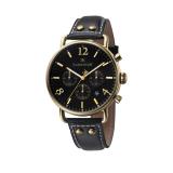 Deals For Thomas Earnshaw Investigator Es 8001 01 Men S Black Genuine Leather Strap Watch Intl