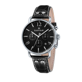 Who Sells Thomas Earnshaw Investigator Es 8001 03 Men S Black Genuine Leather Strap Watch Intl The Cheapest