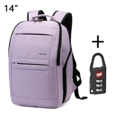 Price Tigernu Anti Theft Waterproof Sch**l College Teenager Laptop Backpack For 10 1 14 Inches Laptop Light Purple Intl Online China