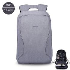 Review Tigernu Brand Fashion Business Casual Anti Theft Backpack 14 Inches Laptop Bagst B3188 Silver Grey Tigernu On China