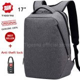 Tigernu Multifunctional Fashion Women Men17 Inches Laptop Backpack T B3164 Grey Tigernu Discount
