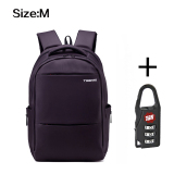 Tigernu Size M 15Inches Travel Business Daily Waterproof Backpack For 12 1 15 6 Inches Laptop T B3032A Purple Reviews