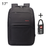 Buy Cheap Tigernu Waterproof Anti Theft Four Tooth Zipper Shcool College Causal 17 Inches Laptop Backpack For 12 1 17 Inches Laptop T B3152 Black