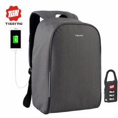 Buy Cheap Tigernu Waterproof Anti Theif Laptop Backpack Fit For 12 15 6Inches Laptop With Usb Charging Port3213 Dark Grey