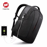 Where To Buy Tigernu Waterproof Nylon Backpack Fits Up To 15 6 Laptop With Usb Charging Port Intl
