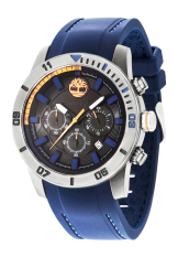 Timberland Alden Dark Blue Silicon Strap Watch Tbl 14524Jsu 02P For Sale