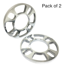 Tirol 2pcs Universal Aluminum 4 Hole Disc Brake Spacer Kit 5mm Thick Wheel Spacer - Intl By Tomtop.