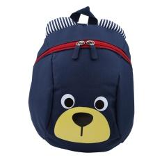 Toddler Backpack Anti-Lost Kids Children Bag Cute Cartoon Kindergarten School Bags(dark Blue) - Intl By Highfly.