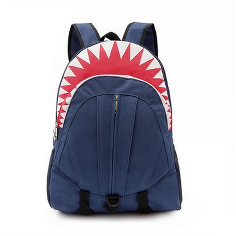 Top 3D Sea Animals School Bags For Boys Kindergarten Baby Shark Horse Print Schoolbag Children Backpack Kids Mochila Infantil - intl