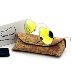 2e661af55f Top Premium Brand Name Designer Sunglasses UV400 Retro 3025 Large Metal  Aviator for Mens Women -