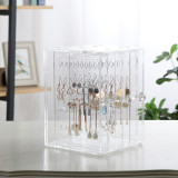 Clear Acrylic Dust Proof Jewelry Organizer Drawer Shopping
