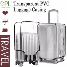 Low Cost Transparent Pvc Luggage Cover 28 Inch
