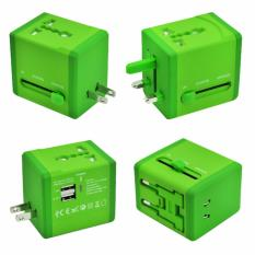 Coupon Travel Adapter With 2 Usb Ports
