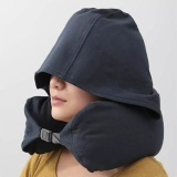 Travel Hooded Neck Pillow U Shaped Neck Support For Car And Airplane Intl Reviews