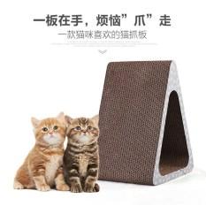 Best Reviews Of Triangular Corrugated Board Cat Scratching Board