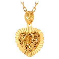 U7 Vintage 18K Real Gold Plated Pendant Necklace Gold On Line