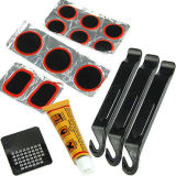 Ujs Bicycle Flat Tire Repair Kit Tool Set Kit Patch Rubber Portable Fill Feta On China