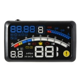 Buy Universal 5 5 Car Hud Head Up Obd Ii Lcd Display Mph Speed Warning System Intl On Singapore