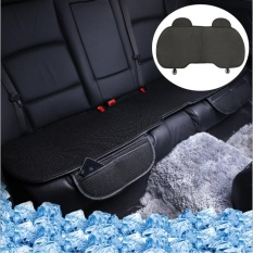 Review Universal Car Back Seats Cover Pad Non Slip Ice Silk Seat Protector Mat Cushion (Black) Intl Not Specified On China