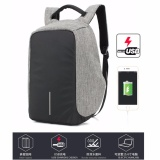 Best Reviews Of Usb Charging Laptop Backpacks Sch**l Multifunction Waterproof Anti Theft Back Pack For Male Teenager Bags Intl